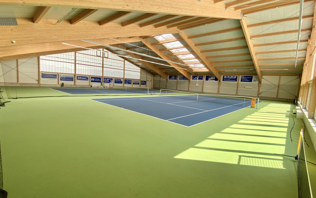 Tennishalle in Urbach